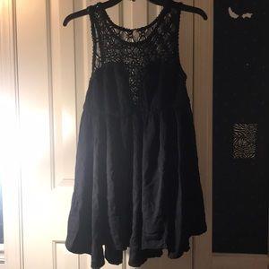 Free People little black dress